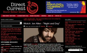 Jon Allen Featured on Direct Current Music