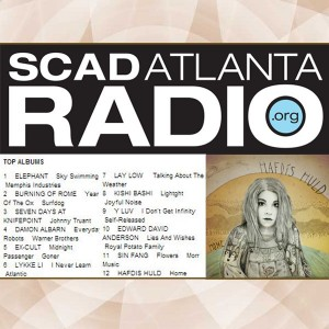 "Hafdis Huld's ""Home"" Is SCAD Atlanta Radio's #12 Album"