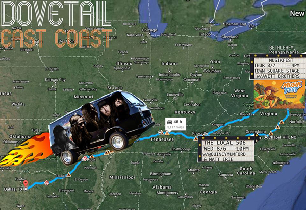 Dovetail East Coast Tour