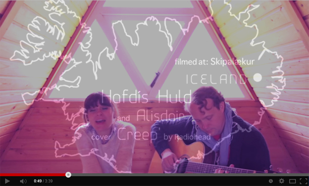 "Hafdis Huld ""Creep"" (Radiohead) Cover"
