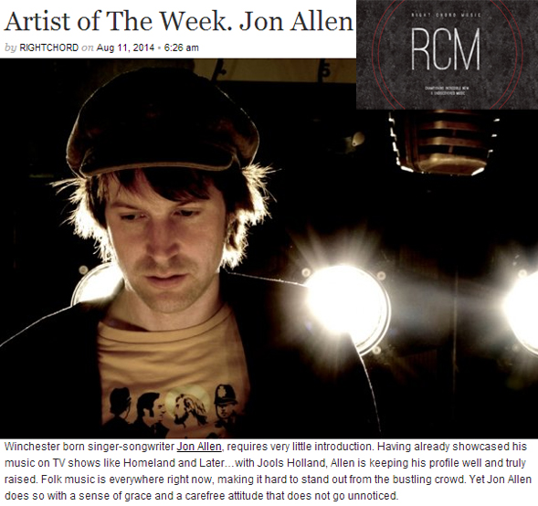 Jon Allen - Right Chord Music