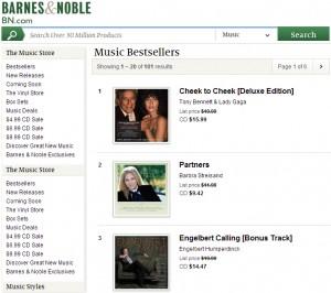 'Engelbert Calling' Hits #3 on Barnes & Noble's Music Bestsellers