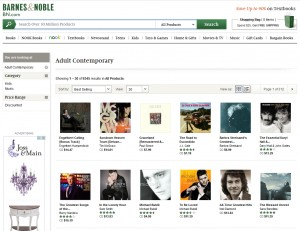 Engelbert Calling CD #1 On Barnes & Noble Adult Contemporary Sales Chart