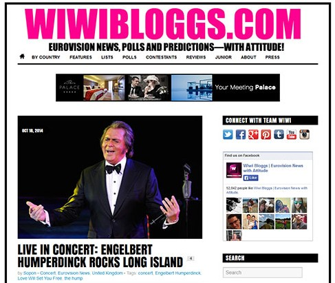 Engelbert Humperdinck Rocks Long Island!