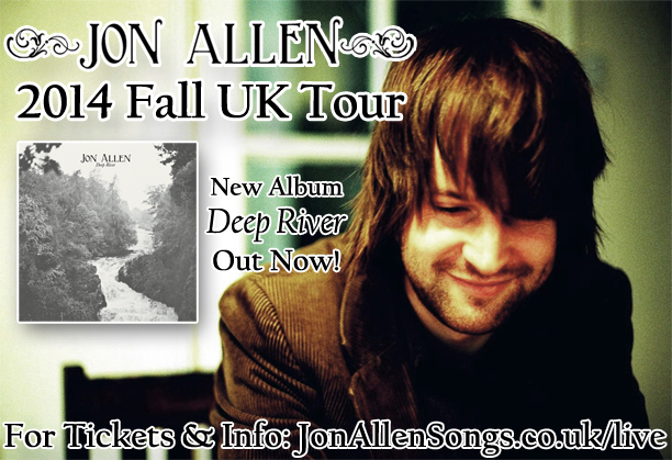 Jon Allen 2014 Fall UK Tour