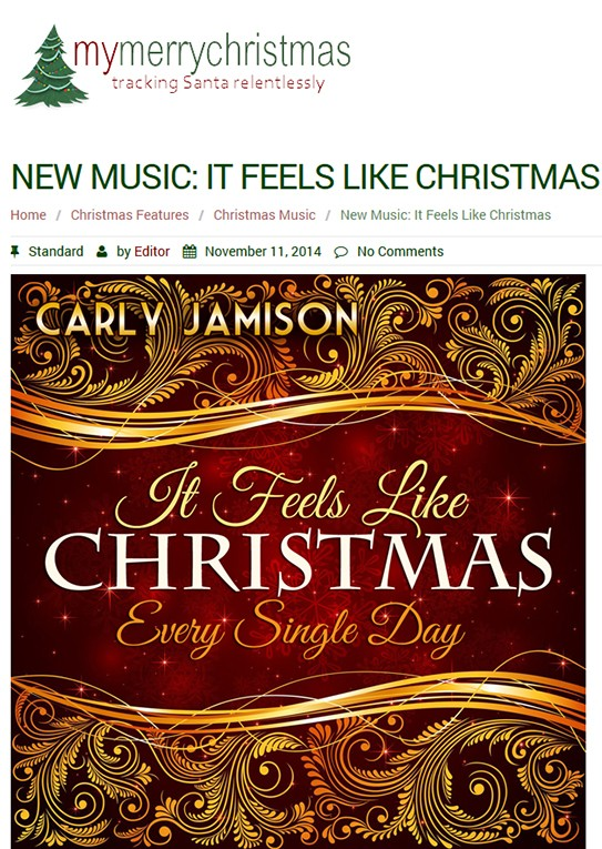 Carly Jamison- MY MERRY CHRISTMAS