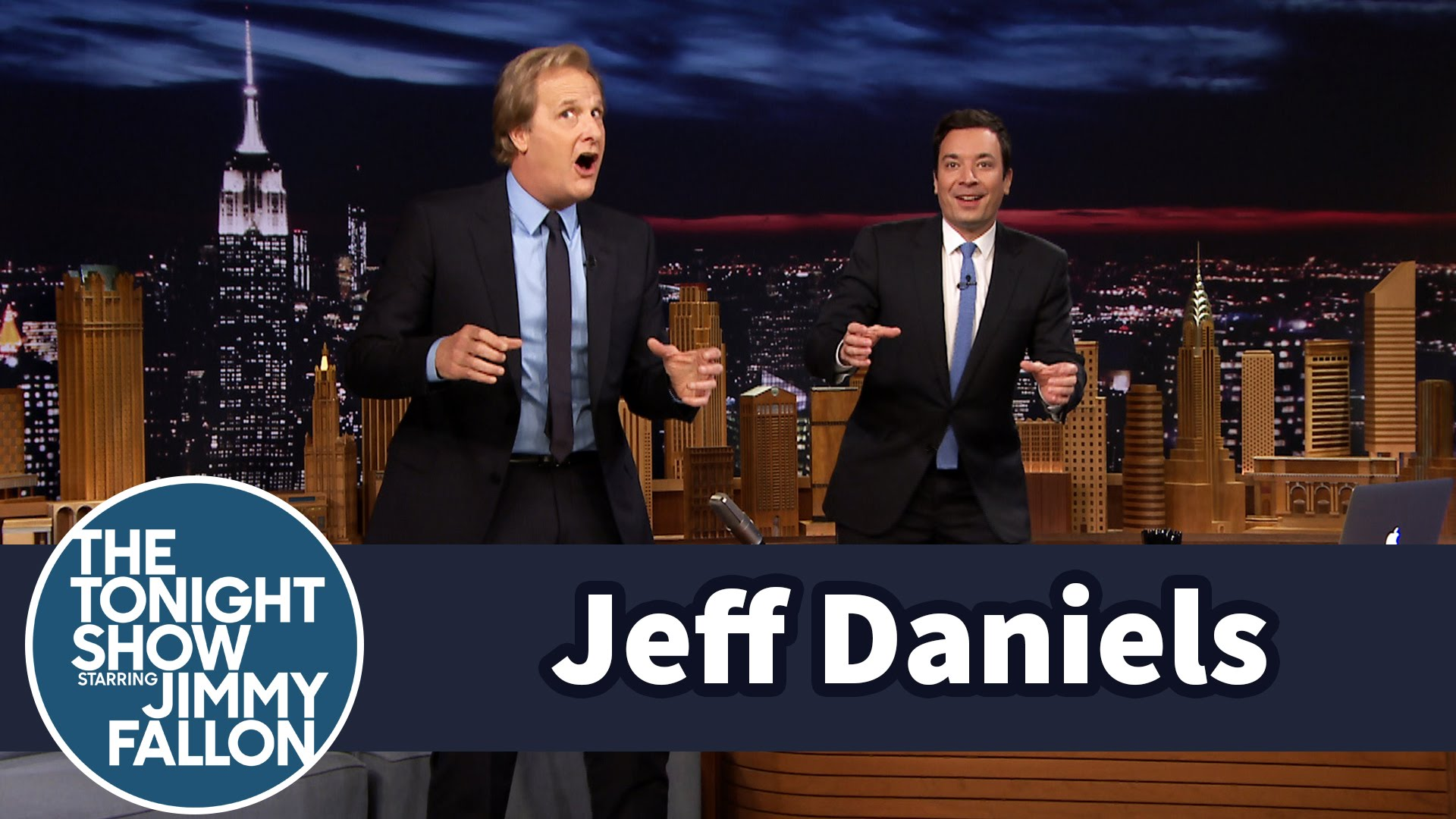 Jeff Daniels, Engelbert Humperdinck, and the Big Bay Shuffle on Jimmy Fallon