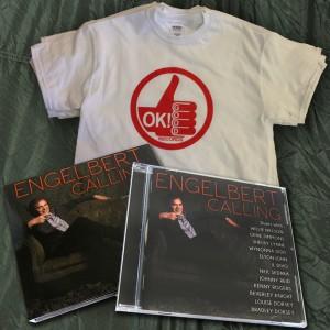 ENGELBERT HUMPERDINCK – Engelbert Calling Combo Pack (Free OK!Good T-Shirt)