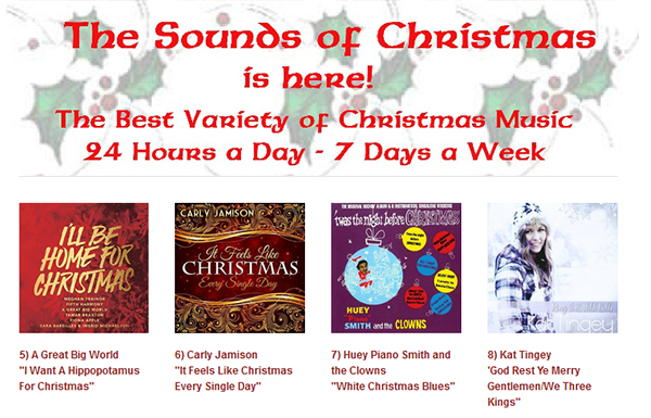 sounds of xmas