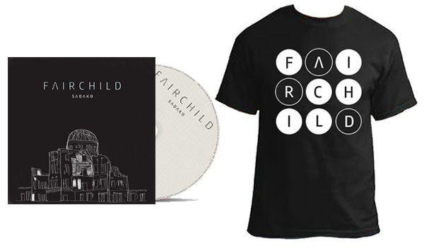 FAIRCHILD - Sadako EP & T-Shirt
