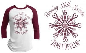 JANET DEVLIN – Baseball T-Shirt