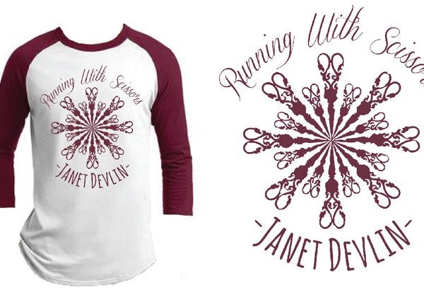 Janet Devlin Baseball T-Shirt