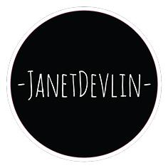 Janet Devlin Logo Sticker
