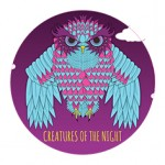 'Creatures of the Night' Sticker