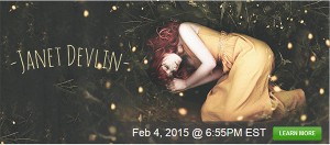 Janet Devlin Set to Perform Live on Stageit February 4th