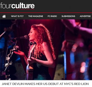 Four Culture Magazine Captured Janet Devlin's Performance at The Red Lion