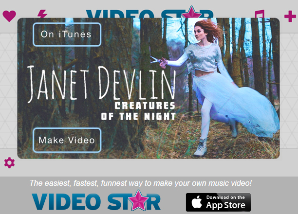"Janet Devlin's ""Creatures of the Night"" Featured as Song of the Week on Video Star"