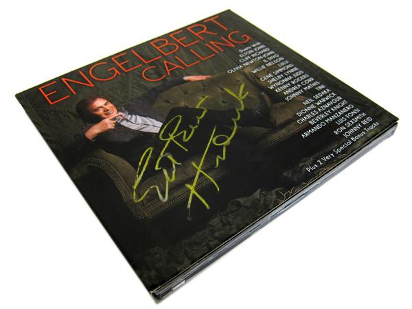 engelbert calling autographed CD