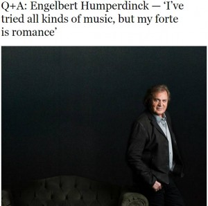 Las Vegas Sun's Interview With Music Legend Engelbert Humperdinck