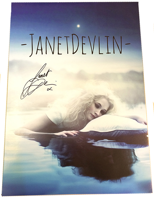 JANET DEVLIN - Signed 'Lake' Poster (Limited Edition)