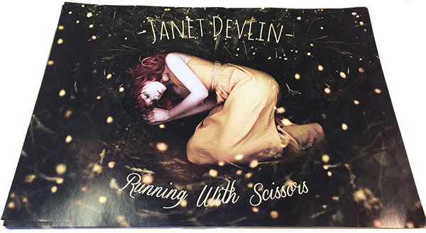 Janet Devlin - 'Running With Scissors' Poster