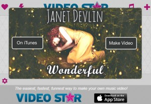 "Janet Devlin's ""Wonderful""  Featured as Song of the Week on Video Star"
