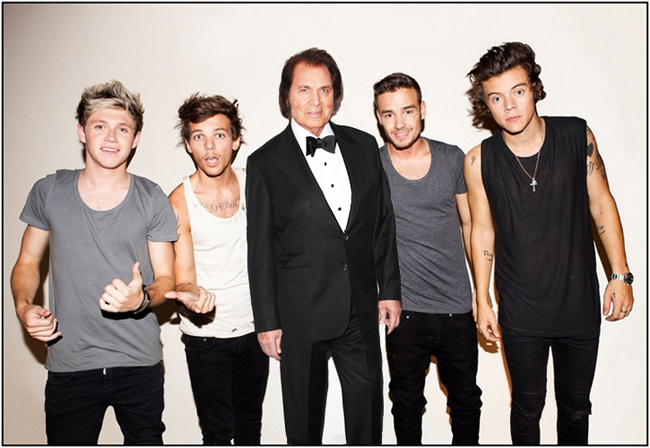 One Direction Announces Engelbert Humperdinck as New Member