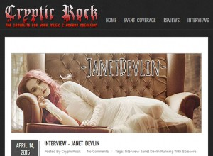 Janet Devlin's Exclusive Interview With Cryptic Rock