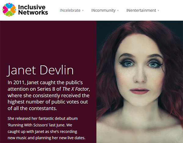 Janet Devlin's Exclusive Interview With Inclusive Networks