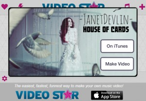 "Janet Devlin's ""House of Cards"" Featured as Song of the Week on Video Star"