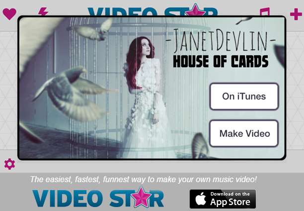 "Janet Devlin ""House of Cards"" on Video Star"