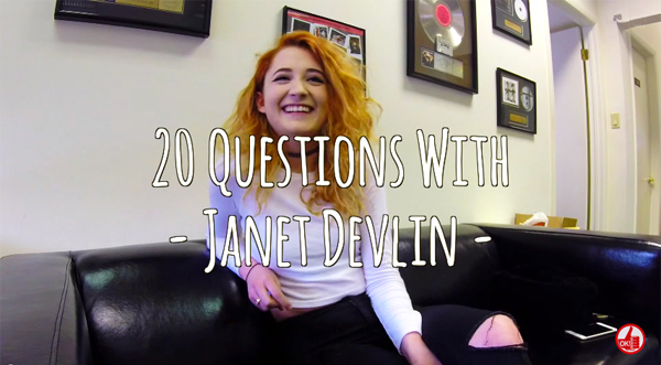 20 Questions With Janet Devlin