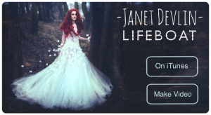 "Janet Devlin's ""Lifeboat"" Featured as Song of the Week on Video Star"