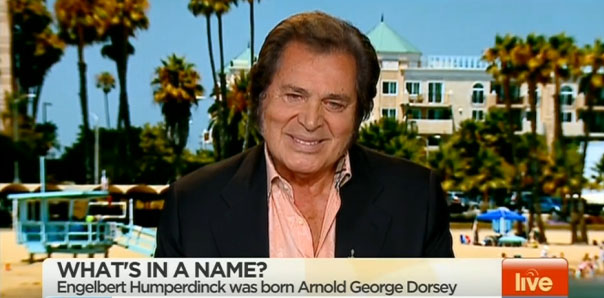 Engelbert Humperdinck's Exclusive Interview With Australia's Sunrise TV
