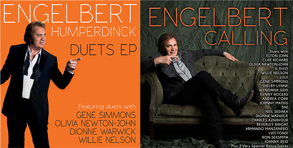 """ENGELBERT HUMPERDINCK -  'Engelbert Calling' CD / 'Duets' EP 7"""" Vinyl Combo"""
