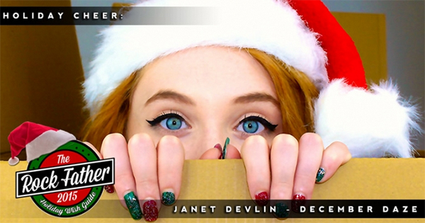 The Rock Father Magazine Features Janet Devlin's 'December Daze' EP