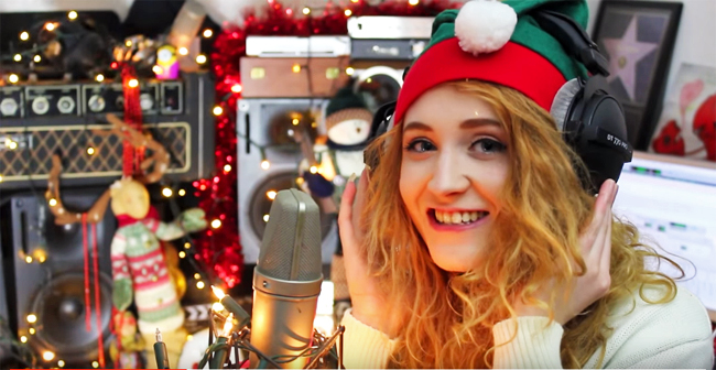 Janet Devlin - Happy Holidays (Official Music Video)