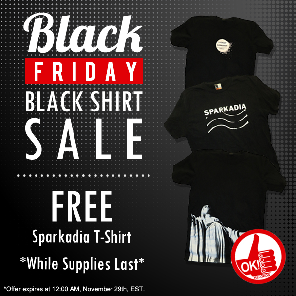 d5599616993 Black Friday Black T-Shirt Sale Going on Now! - OK! Good Records