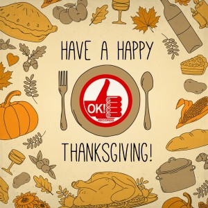 Happy Thanksgiving From OK!Good Records!