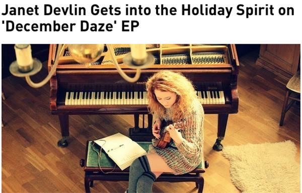 Janet Devlin's Interview With PledgeMusic