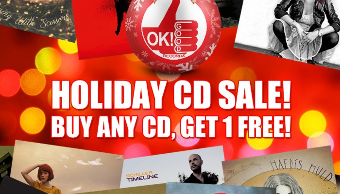 OK!Good Holiday CD Sale