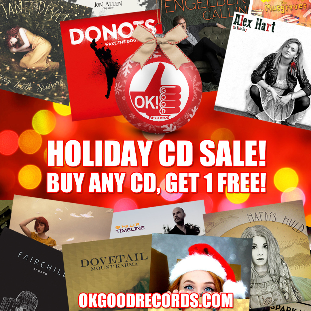 OK!Good Records Holiday CD Sale Going on Now!