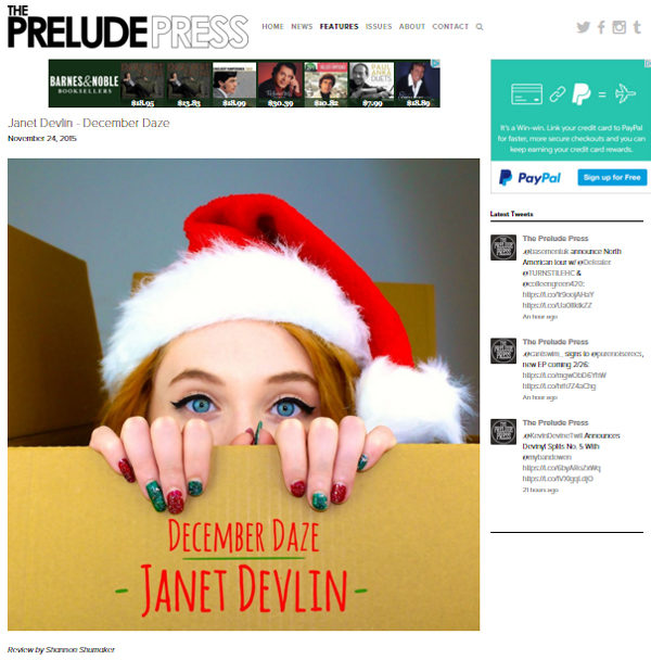 The Prelude Press 'December Daze' Review