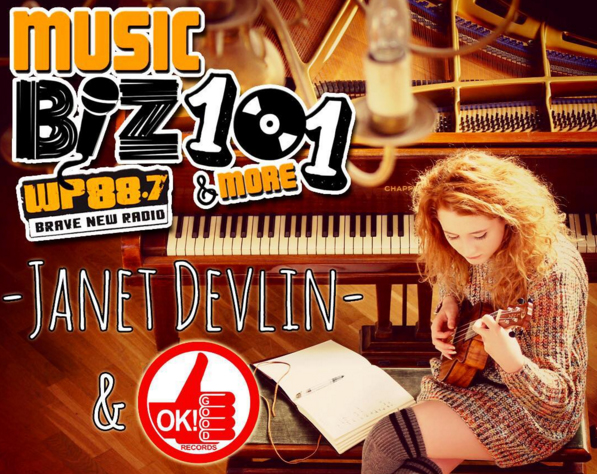 Janet Devlin Music Biz 101 & More Podcast Available Now!