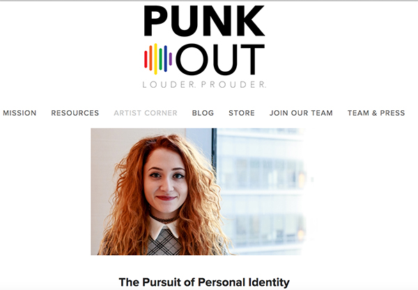 ICYMI: Check Out Janet Devlin's Blog Post on Punk Out's 'Artist Corner'