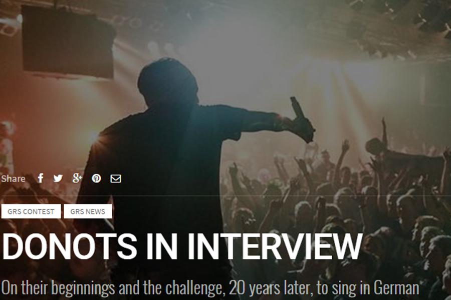 DONOTS OK Good Records Global Rockstar Magazine Karacho