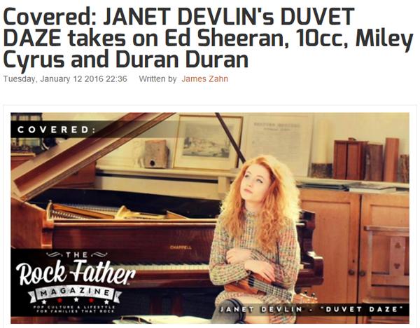 Duvet Daze Janet Devlin The Rock Father