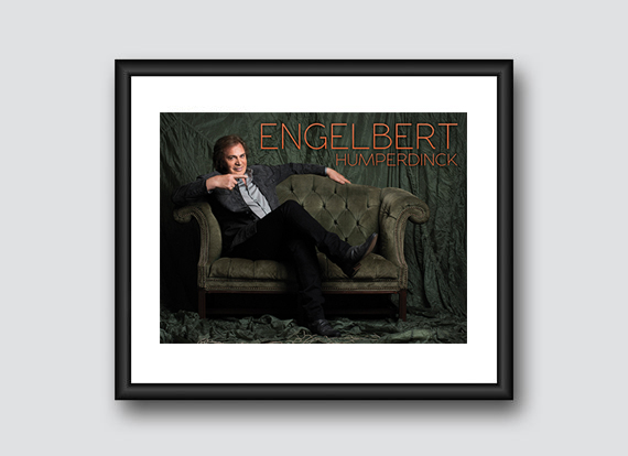 Engelbert Humperdinck Posters Available Exclusively at Upcoming 2016 Tour