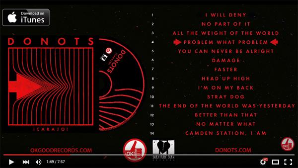 DONOTS - ¡CARAJO! Album Sampler