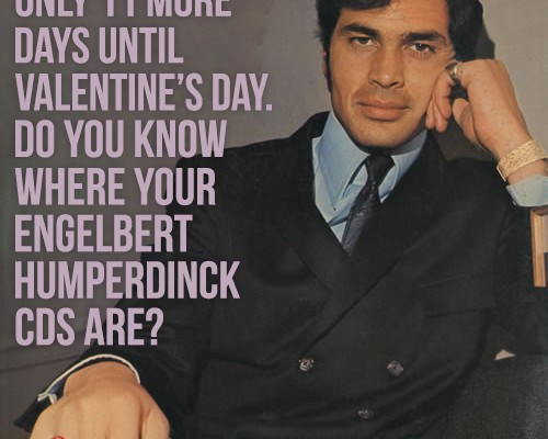 Valentine's Day with Engelbert Humperdinck
